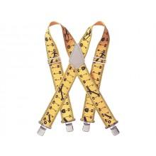"Kunys Yellow Tape Braces 2"" Wide"
