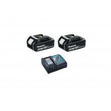 Makita 2x 5ah Batteries & Charger Add-On