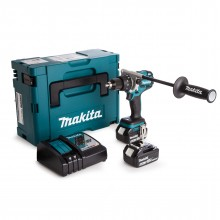 Makita Brushless Heavy Duty Combi Drill - 2x 5ah