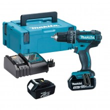Makita DHP482RJ 18v Combi Drill, 2x3ah Batteries & Charger