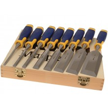 Marples MS500 Wood Chisel with Strike Cap Set of 8