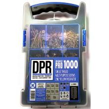 DPR 1000pc Screw Organiser Box c/w 5 x Pz2 Bits