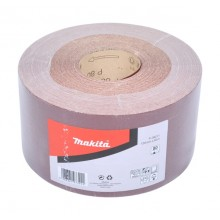 Makita Sanding Roll 120mm x 50m 80 Grit