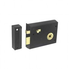 Securit Rim Latch with Locking Snib