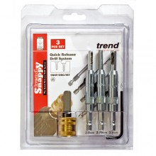 Trend Snappy drill bit guide 4 piece set