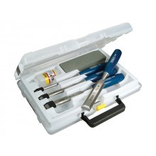 Stanley 4pc Wood Chisel & Sharpening Set