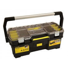 "Stanley Top Edge 24"" 2 in 1 Organiser Tool Box"