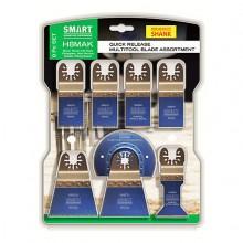 Smart 8 Piece Multi-Tool Accessory set