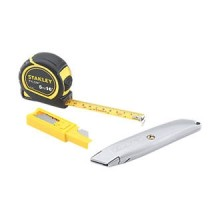 Stanley Tape & Blade 3 Piece Set