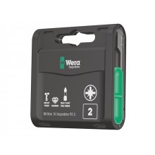 Wera Impaktor 25mm Pz2 Bits - 15 Piece Bit-Box
