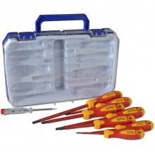 Faithfull 8Pc VDE Screwdriver Set XMS19VDESD8