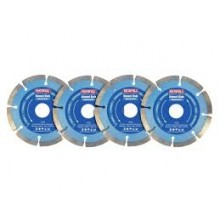 Faithfull 4 Piece Diamond Blade Set XMS18BLADE4