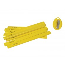 Advent 10 Pack Carpenter's Pencils with Sharpener XMS18PENCI