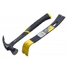 Stanley Antivibe 20oz Claw Hammer & Wonderbar XMS19AVHBAR