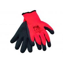 Scan SCAGLOKSTH5l Thermal Latex Gloves x5 - L XMS19GLATEX5